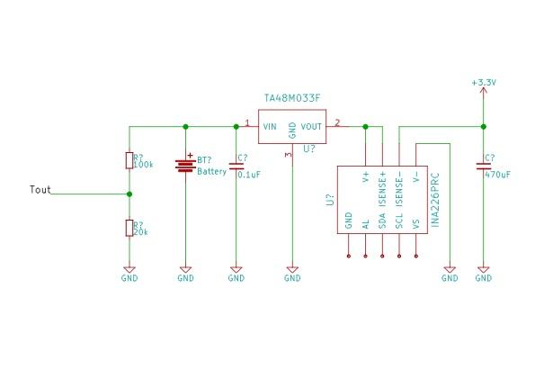 電流モニター接続